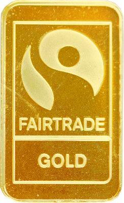 """Gold bar 10g """"Fairtrade"""""""