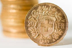 "20 CHF ""Vreneli"": The most popular gold coin in the southwest"