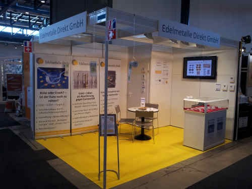Edelmetalle direkt at Baden-Messe