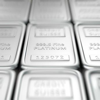 Platinum bar