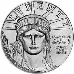 Platinum Eagle 1 ounce