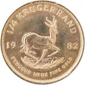 Krugerrand 1/4oz Gold