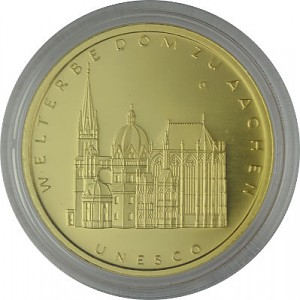 100 Euro 1/2oz Gold - 2012 Aachen Cathedral