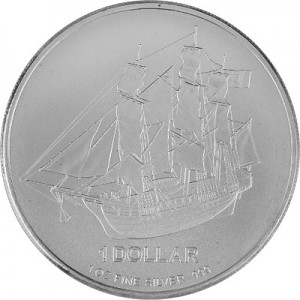 Cook Islands 1oz Silver - B-Stock