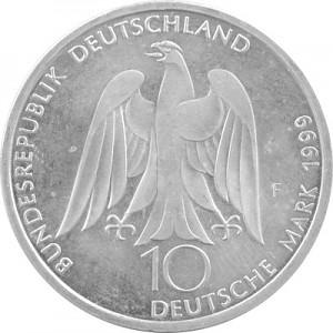 10 DM Commemorative Coins GDR 14,34g Silver (1998 - 2001)