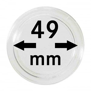 Coin Capsules 49mm, 1 Piece