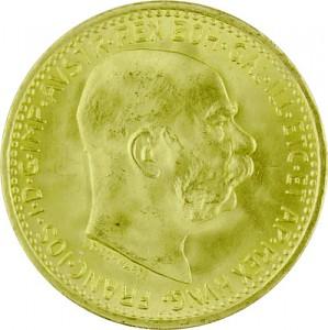 10 Kronen Austria 3,04g Gold