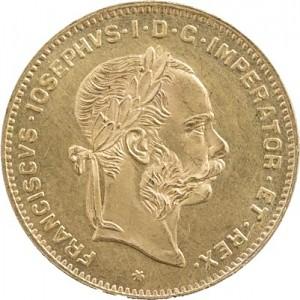 4 Florin Austria 2,9g Gold