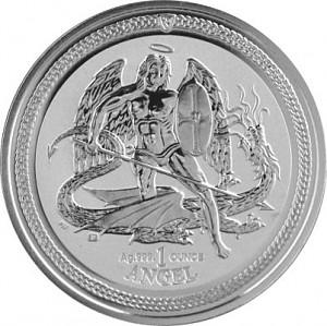 Archangel St. Michael 1 oz Silver - 2016 Reverse Proof