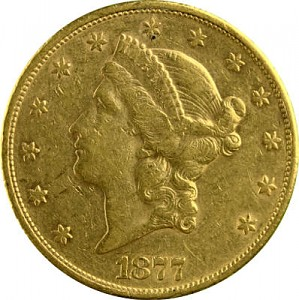 20 Dollar Double Eagle Liberty Head 30,09g Gold