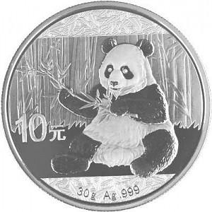 China Panda 30g Silver - 2017