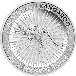Australian Kangaroo 1oz Silver - different years