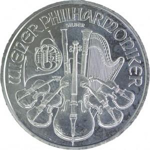 Vienna Philharmonic 1oz Silver - B-Stock
