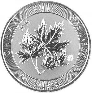 Multi Maple Leaf 1,5oz Silver (Super Leaf) - 2017