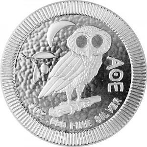 Niue Athenian Owl 1oz Silver - B-Stock