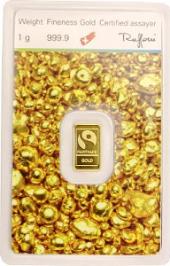 Gold Bar 1g - 'Fairtrade Gold'