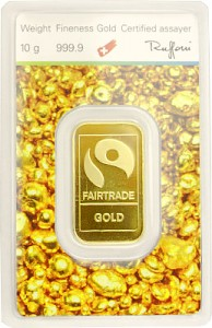 Gold Bar 10g - 'Fairtrade Gold'