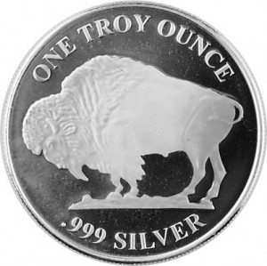 American Buffalo Round 1oz Silver