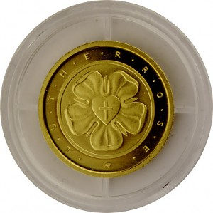 50 Euro 1/4oz Gold Luther rose - 2017