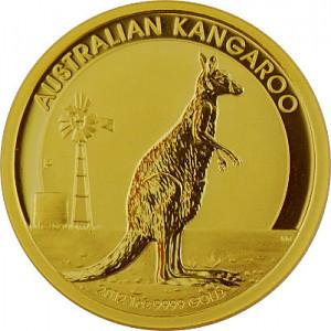 Australian Kangaroo 1oz Gold - 2012