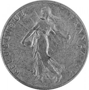 50 Centime France 2,09g Silver (1897 - 1920)