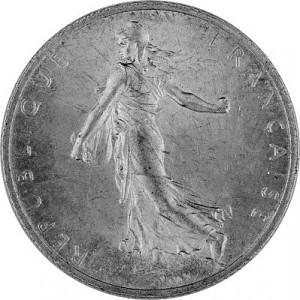 2 Franc France 8,35g Silver (1898 - 1920)
