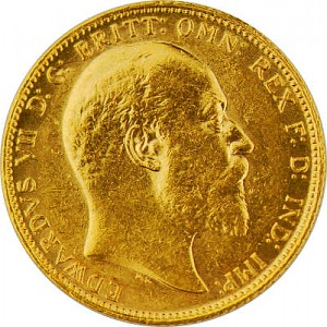 1 Pound Sovereign Edward VII 7,32g Gold