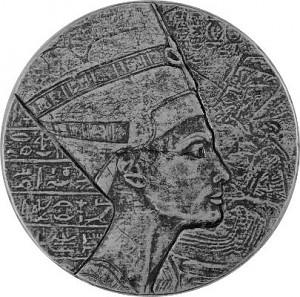 Republic of Chad Queen Nefertiti 5oz Silver - 2017