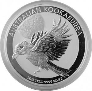 Kookaburra 1kg Silver - 2018