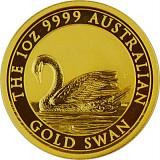 Australian Swan 1oz Gold - 2017