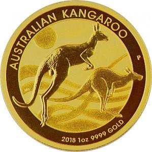 Australian Kangaroo 1oz Gold - 2018