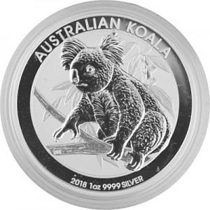Koala 1oz Silver - 2018