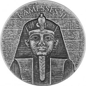 Republic of Chad Ramses II 2oz Silver - 2017