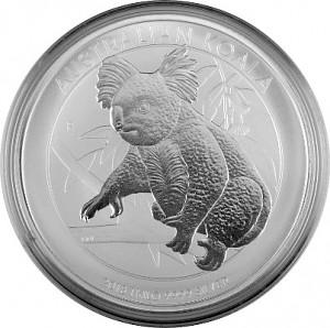 Koala 1kg Silver - 2018