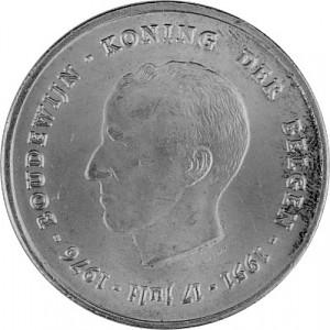 250 Belgian Francs 22.88g Silver - 1976