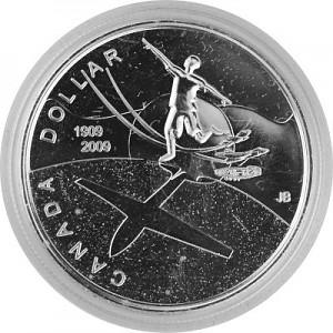 1 Canada Dollar Celebrating Thayendanegea 23.28g Silver - 2009 proof