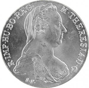Austria Maria Theresa Silver Thaler 23,38g Silver