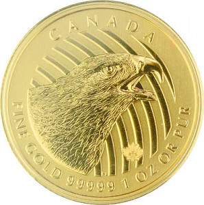 Call of the Wild - Golden Eagle 1oz Gold - 2018