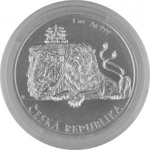 Niue Czech Lion 1oz Silver - 2018