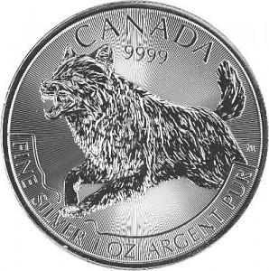 Canadian Predator Series - Wolf - 1oz Silver - 2018