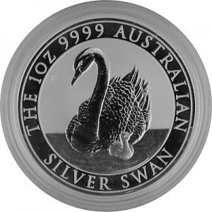 Swan Australia 1oz Silver - 2018