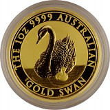 Australian Swan 1oz Gold - 2018