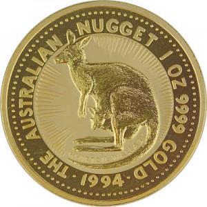 Australian Kangaroo 1oz Gold - 1994