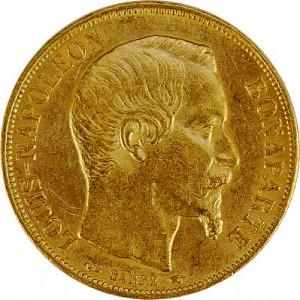 20 French Francs Napoleon Bonaparte 5,81g Gold