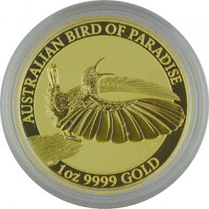 Birds of Paradise - Victoria Bird of Paradise 1oz Gold - 2018