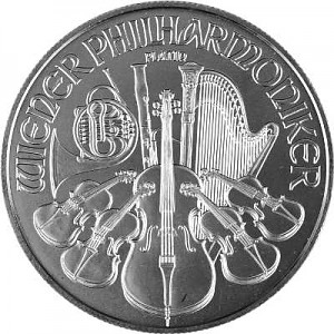 Vienna Philharmonic 1oz Platinum