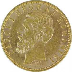20 Lei Carol I 5,81g Gold - 1890