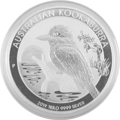 New Silver Kookaburra Coin magnetic Box for Frame storage //protection