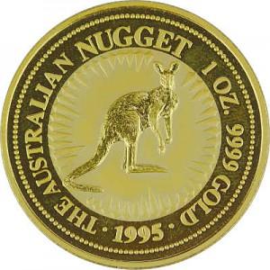 Australian Kangaroo 1oz Gold - 1995