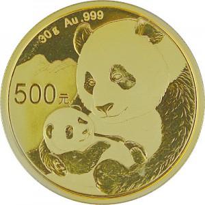 Chinese Panda 30g Gold - 2019